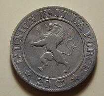 Belgium 20 Centimes 1861 - 05. 20 Centimes