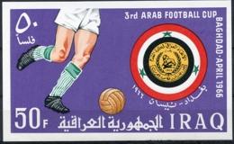 Iraq, 1966, Arab Soccer Cup, Football, MNH, Michel Block 9 - Iraq