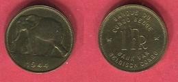 1 FRANC 1944  TTB 2 - Congo (Belgian) & Ruanda-Urundi