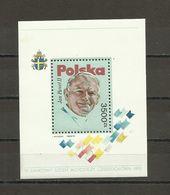 Poland 1991 - Pope, MNH - Blocks & Sheetlets & Panes