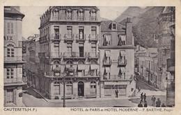 CAUTERETS  - Hôtel De Paris Et Hôtel Moderne - Cauterets