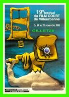 AFFICHES DE FILM - 19e FESTIVAL DU FILM COURT DE VILLEURBANNE (69) EN 1998 - - Séries TV