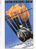 Auto Union - DKW  -  Publicite  -  CPM - Sport Moto