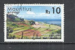 MAURITIUS 2006 - ECOLOGICAL HISTORY -  USED OBLITERE GESTEMPELT USADO - Maurice (1968-...)