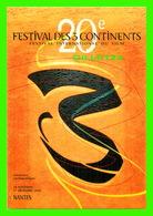 AFFICHES DE FILM -  20e FESTIVAL DES 3 CONTINENTS, NANTES (44) EN 1998 - - Séries TV