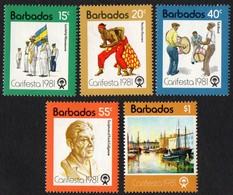 Barbados.  1981 Carifesta (Caribbean Festival Of Arts), Barbados. MNH - Barbados (1966-...)