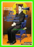 AFFICHES DE FILM -  21e FESTIVAL DU FILM COURT DE VILLEURBANNE (69) EN L'AN 2000 - - Séries TV