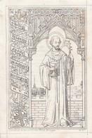 Priester Franciscus Bouckaert-na Huwelijk Priester-lendelede 1778-chievres 1848-rand Links+boven Beschadigd - Devotion Images