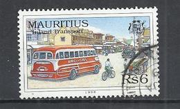 MAURITIUS 1998 - INLAND TRANSPORTATION -  USED OBLITERE GESTEMPELT USADO - Maurice (1968-...)