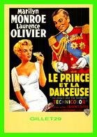 AFFICHES DE FILM - LE PRINCE ET LA DANSEUSE AVEC MARILYN MONROE & LAURENCE OLIVIER EN 1957 - EDITIONS ZREIK - - Séries TV