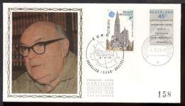 FDC SOIE / ZIJDE - - 06/05/1978 - Europa Jumelage Belgique-Hollande (1 Pli, Oblitération 1000 Bruxelles) - FDC