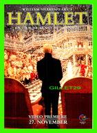 AFFICHES DE FILM - HAMLET FILM DE KENNETH BRANAGH - GO-CARD, 1997 - - Séries TV