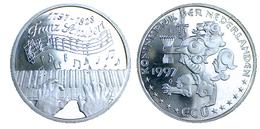 """03113 GETTONE TOKEN JETON THE NETHERLANDS NEDERLAND ECUBRIEF 1997 """"24 - Franz Schubert"""" - Unclassified"""