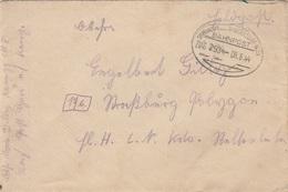 FELDPOST Brief 1944 Mit Bahnpost Befördert V. Gars Am Kamp N.Straßburg, Bahnpoststempel Sigmundsherd… - Hauersdorf - ... - 1939-45