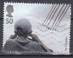 GROSSBRITANNIEN GRANDE BRETAGNE GB  2008 AIR DISPLAYS: FARNBOROUGH 50P USED SG 2857 SC 2589 MI 2660 YV 3038 - Usados