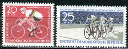 DDR - Mi 779 / 780 - ** Postfrisch (A) - 20+10-25+10Pf  Radweltmeisterschaften - Nuevos