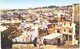 POSTAL  TANGER  -MARRUECOS  - VUE GENERALE - Tanger