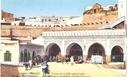 POSTAL  TANGER  -MARRUECOS  - ENTRÉE DE LA VILLE-COTÉ DU PORT - Tanger