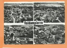 CPSM Grand Format -En Avion Au Dessus De... Valdampierre   -(Oise) -Vue D'ensemble -( Multivue , Multivues ) - Francia
