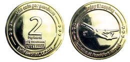 03154 GETTONE TOKEN JETON VENDING DUTY FREE FRANKFURT AIRPORT 2 EURO 2011 - Allemagne