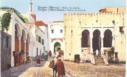 POSTAL  TANGER  -MARRUECOS  -PALAIS DE JUSTICE - Tanger
