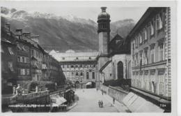 AK 0140  Innsbruck - Burggraben Mit Hofkirche / Verlag Chizzali Um 1928 - Innsbruck
