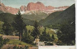 AK 0141  Rosengarten Bei Bozen ( Dolomiten ) - Verlag Henning Um 1910 - Bolzano (Bozen)