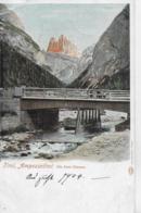 AK 0141  Ampezzothal - Die Drei Zinnen / Verlag Fränzl & Co Um 1904 - Belluno