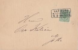 DR Karte EF Minr.39 R3 Harburg In Hannover 15.9.80 - Deutschland