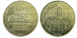 03379 GETTONE TOKEN JETON  MEDAL - 100th ANNIVERSARY OF THE HAMBURG  KARSTADT Mö - Allemagne