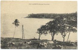 GUYANE - ILE ST JOSEPH (IL S'AGIRAIT D'UNE DEMI CARTE DOUBLE) - Guyane