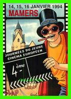 AFFICHES DE FILM - 4e JOURNÉE DU JEUNE CINÉMA EUROPÉEN EN 1994 À MAMERS (72) - - Séries TV