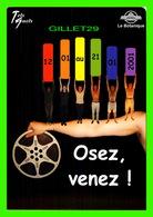 AFFICHES DE FILM - 15e FESTIVAL DU FILM GAY ET LESBIEN DE BRUXELLES, BELGIQUE EN 2001 - - Séries TV