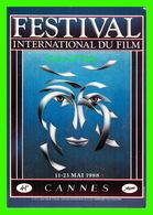 AFFICHES DE FILM - 41e FESTIVAL INTERNATIONAL DU FILM DE CANNES (06) EN 1988 - - Séries TV