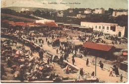 POSTAL  TANGER  -MARRUECOS  -PLACE DU GRAND SOKKO - Tanger