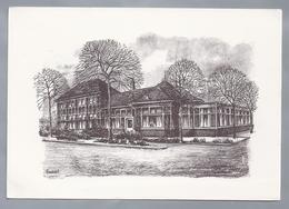 NL.- AMERSFOORT. Cafe Restaurant De Oude Tram, Stationsplein,- G. Knodde. - Schone Kunsten