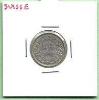 SUISSE  1/2  FRANCS  1958 - Suisse