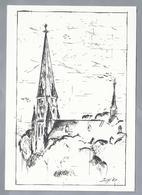 NL.- MAASLAND. R.K. H.M. MAGDELENA KERK. - Schone Kunsten