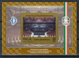 Italien Block '100 J. Abgeordnetenkammer Im Palazzo Montecitorio' / Italy M/s 'Cent. Of Chamber Of Deputies' **/MNH 2018 - Other
