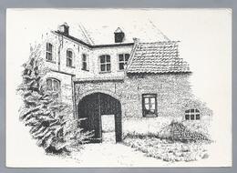 NL.- MEGEN. Clarissen Klooster - St. Jozefberg -. Clarastraat 2. Pentekening Van J.L.M. Tankink. - Schone Kunsten