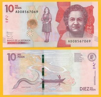 Colombia 10000 (10,000) Pesos P-460 2016 UNC - Colombia