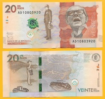 Colombia 20000 (20,000) Pesos P-461 2016 UNC - Colombie