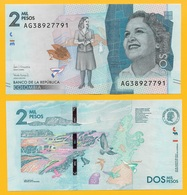 Colombia 2000 Pesos P-458 2017 UNC - Colombia