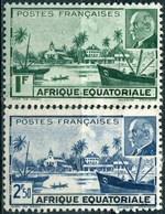 """AEF  N° 90-91 ** """"pétain"""" - A.E.F. (1936-1958)"""