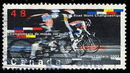 Canada (Scott No.1998 - Championats Cyclisme / Road Cycling Championships) (o) - 1952-.... Règne D'Elizabeth II