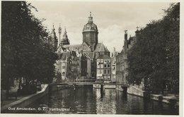 Amsterdam - Oud Amsterdam.O.Z. Voerburgwal. Netherlands.  Sent To Denmark.   S-4582 - Amsterdam
