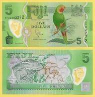 Fiji 5 Dollars P-115 2012 UNC - Fidji
