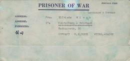 POW Letter 85 50. Lab Serv. Co. 5th Lab. Supv. Area APO 21 PWE 445 To Heidelberg - 1946 (38928) - United States