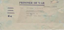 POW Letter 8550. Lab Serv. Co. 165th Lab. Supv. Center APO 21 PWE 445 To Heidelberg - 1946 (38929) - Etats-Unis