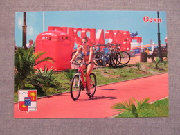 Russia Sochi Girl In A Bathing Suit On Bike Modern PC - Ciclismo